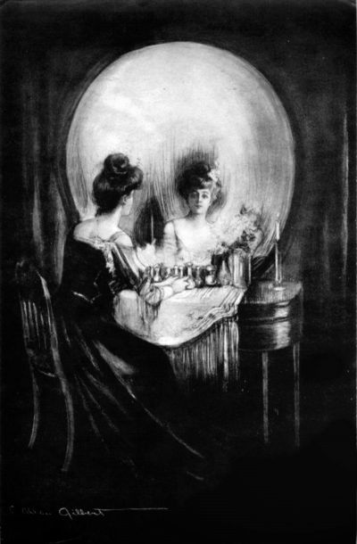 Mirror Skull All Is Vanity (1892)