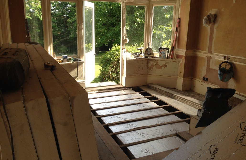 House refurbishment project management in Bucks, Beds and Herts
