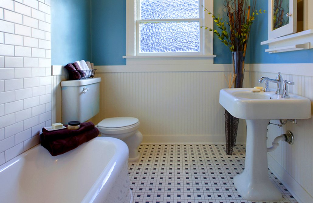 Period bathrooms and how to accommodate all mod cons