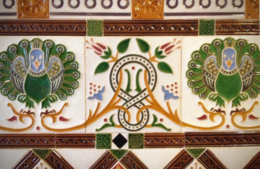 Tiles for Victorian porches
