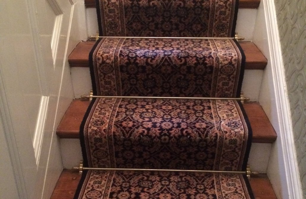How To Fit Stair Rods: Reproduction and Antique