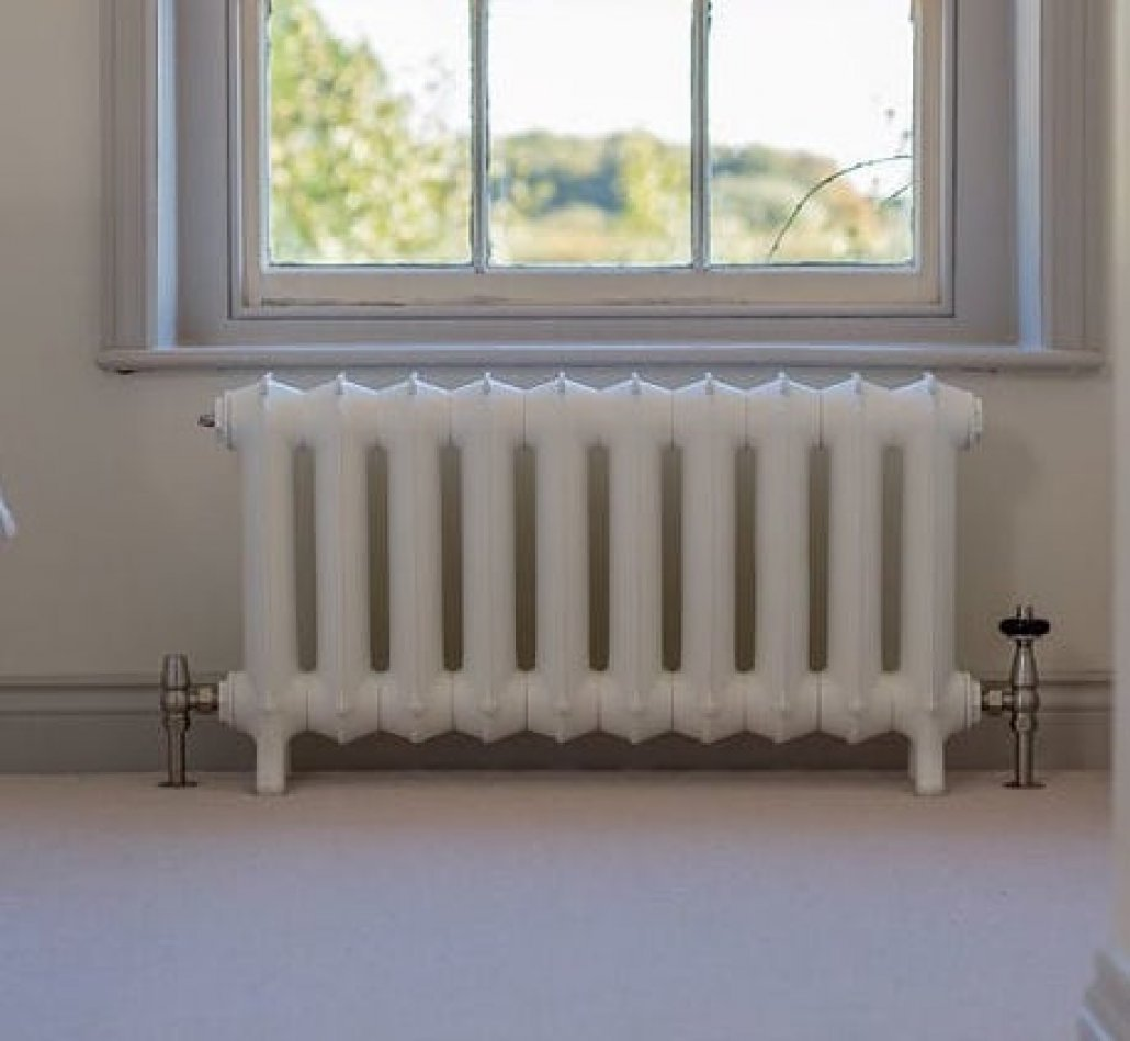 How to paint a cast iron radiator