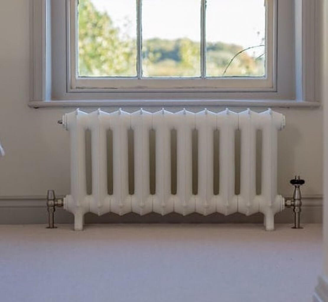 How To Paint A Cast Iron Radiator The Victorian Emporium