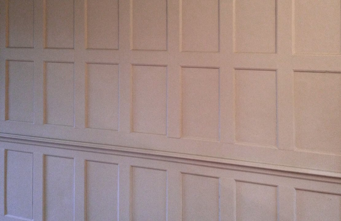 How to make reproduction wooden panelling