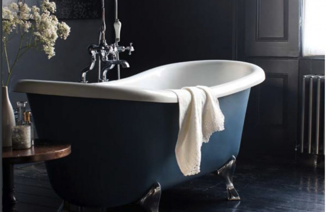 How to install a roll top bath