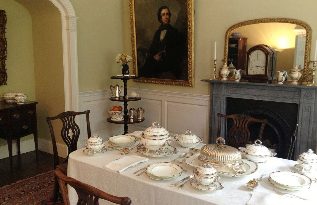 A Victorian Dining Room Fit, Victorian Dining Room