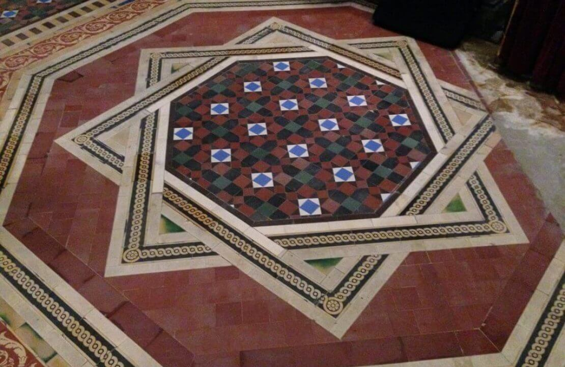 How to restore Victorian tiles