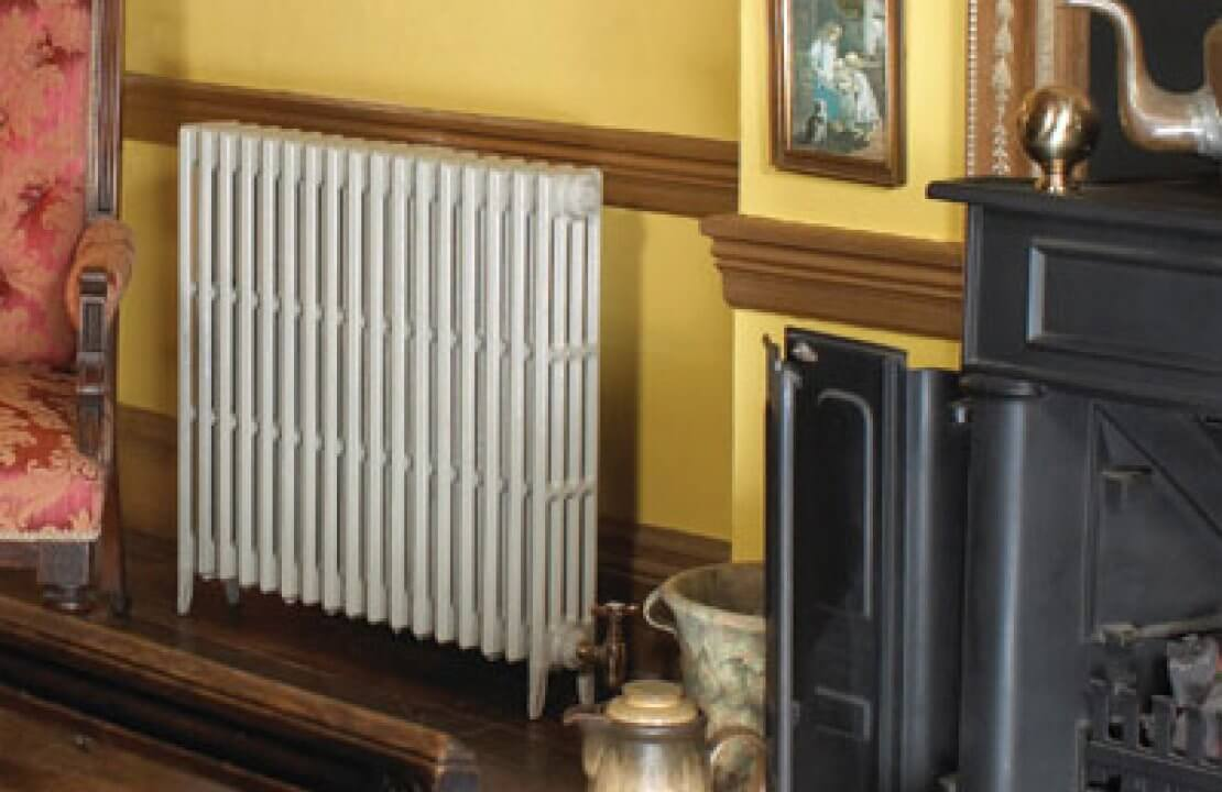 How to clean cast iron radiators
