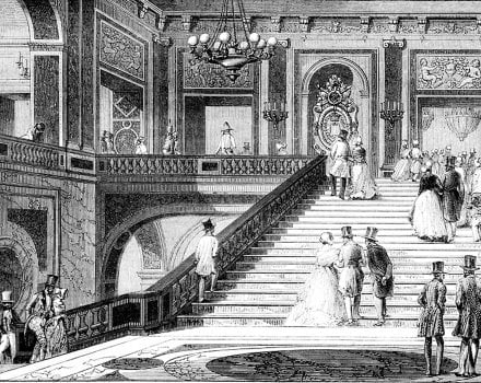 Queen Victoria's visit to the Palace of Versailles