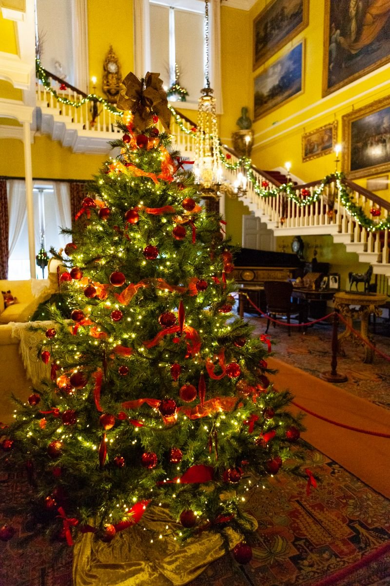 Burton Constable at Christmas