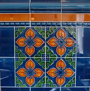 Victorian Porch Tiles