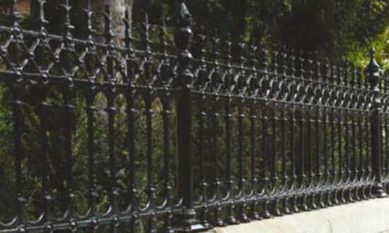 Dumfries range of gates and railings