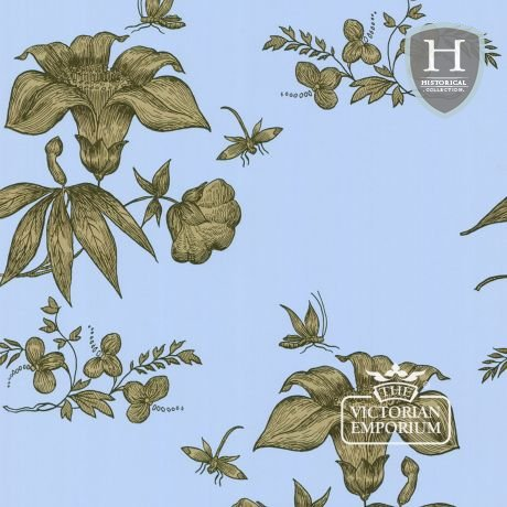 Primavera wallpaper in choice of four colours