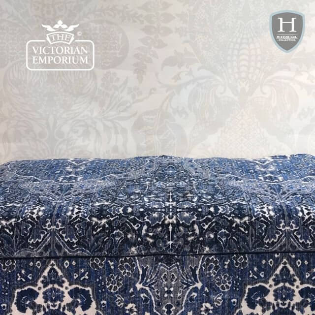 Poseidon Fabric in Indigo