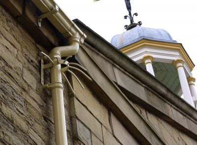 18th Century Guttering