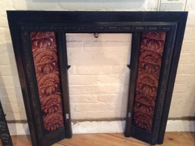 Fireplace tiles Victorian Panels