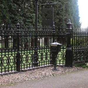The Victorian Emporium's Dumfries Railings