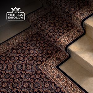 How To Fit Stair Runner Carpet Victorian Emporium
