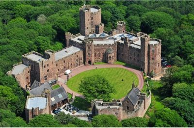 Peckforton Castle in Cheshire was the last fortified castle to be built in England