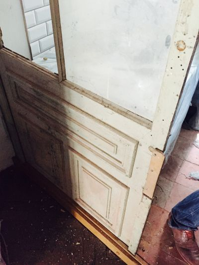 Renovating period door