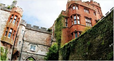 Castle Hotel at Ruthin in North Wales