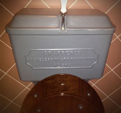 Thomas Crapper valveless waste preventer no 814