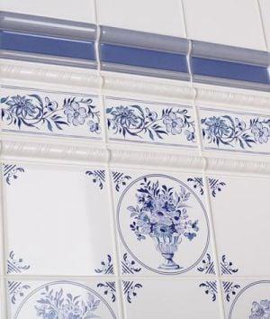 The Victorian Emporium S Delft Wall Tiles