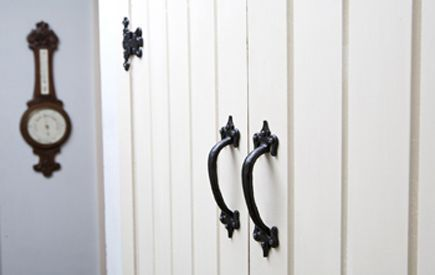 Victorian door furniture