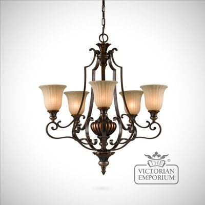 Reproduction Victorian ceiling light