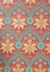 Reproduction Victorian Wallpaper Shrewsbury Welby