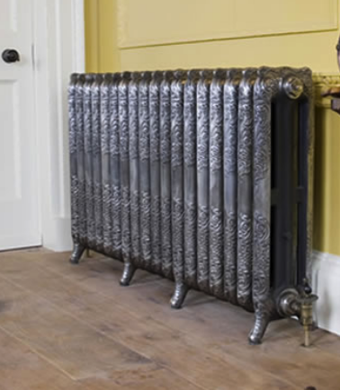 polished radiator