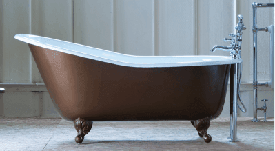 victorian roll top bath