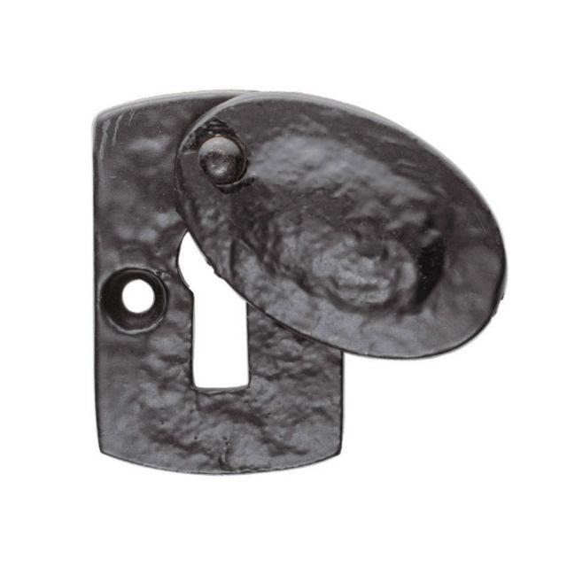 Plaque covered escutcheon