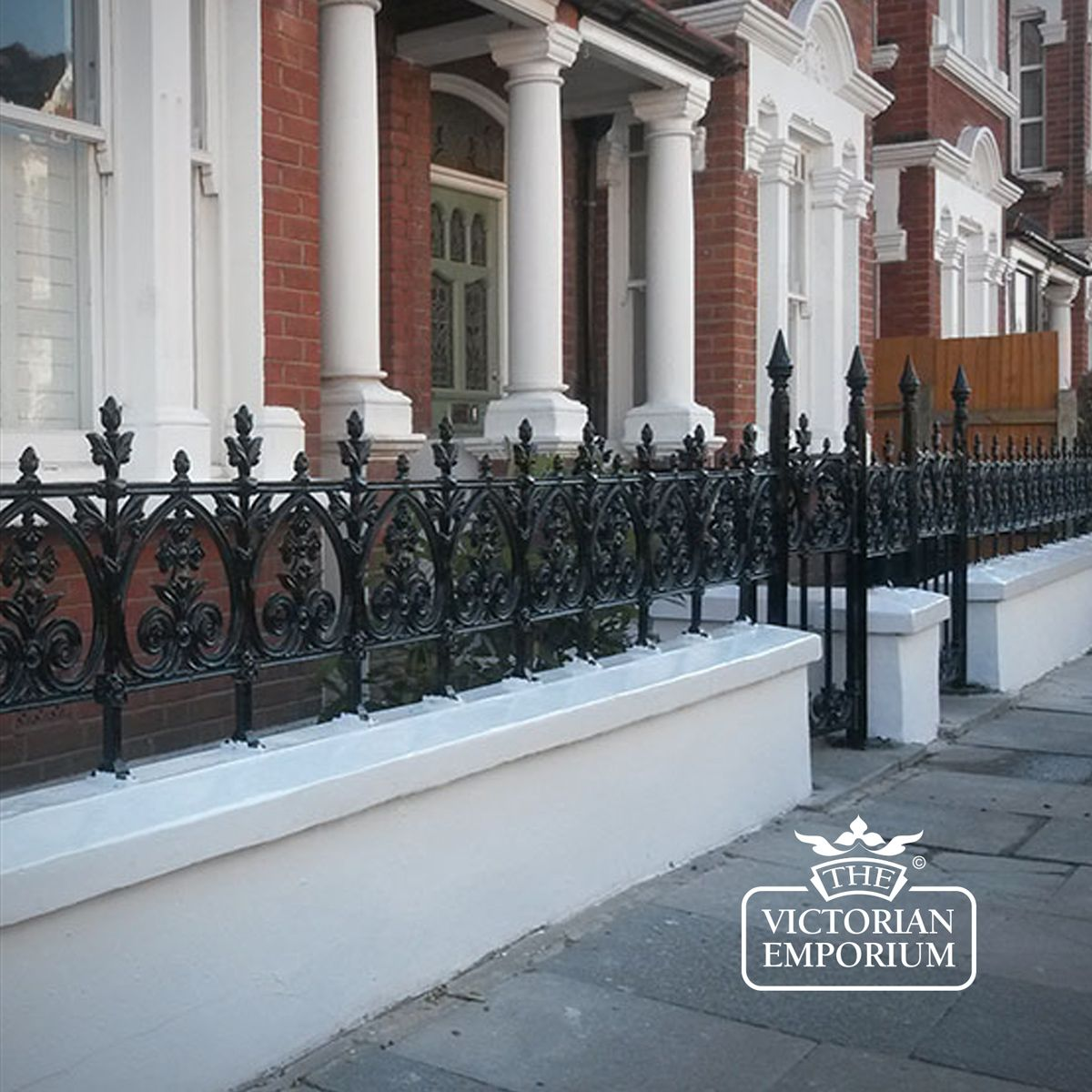 Victorian Terrace Railings Railings Posts And Fixings