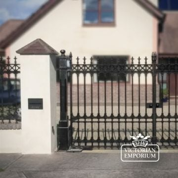 Colchester Garden Gate 7ft high x 1200mm