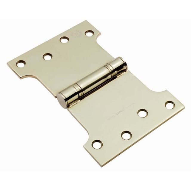 Parliament Hinge c/w Screws - 101.6 x 152 x 3.5mm