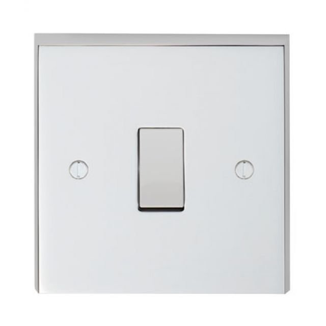 1 Gang Intermediate Switch in brass, chrome or satin chrome