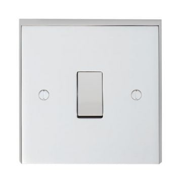 1 Gang Intermediate Switch in brass, chrome or satin chrome