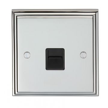 Stepped 1 Gang 10amp 2way Switch - brass or chrome