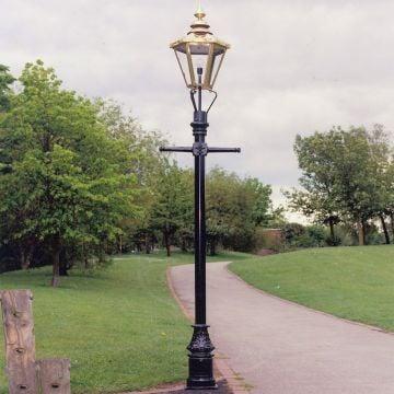 Lichfield lamp post