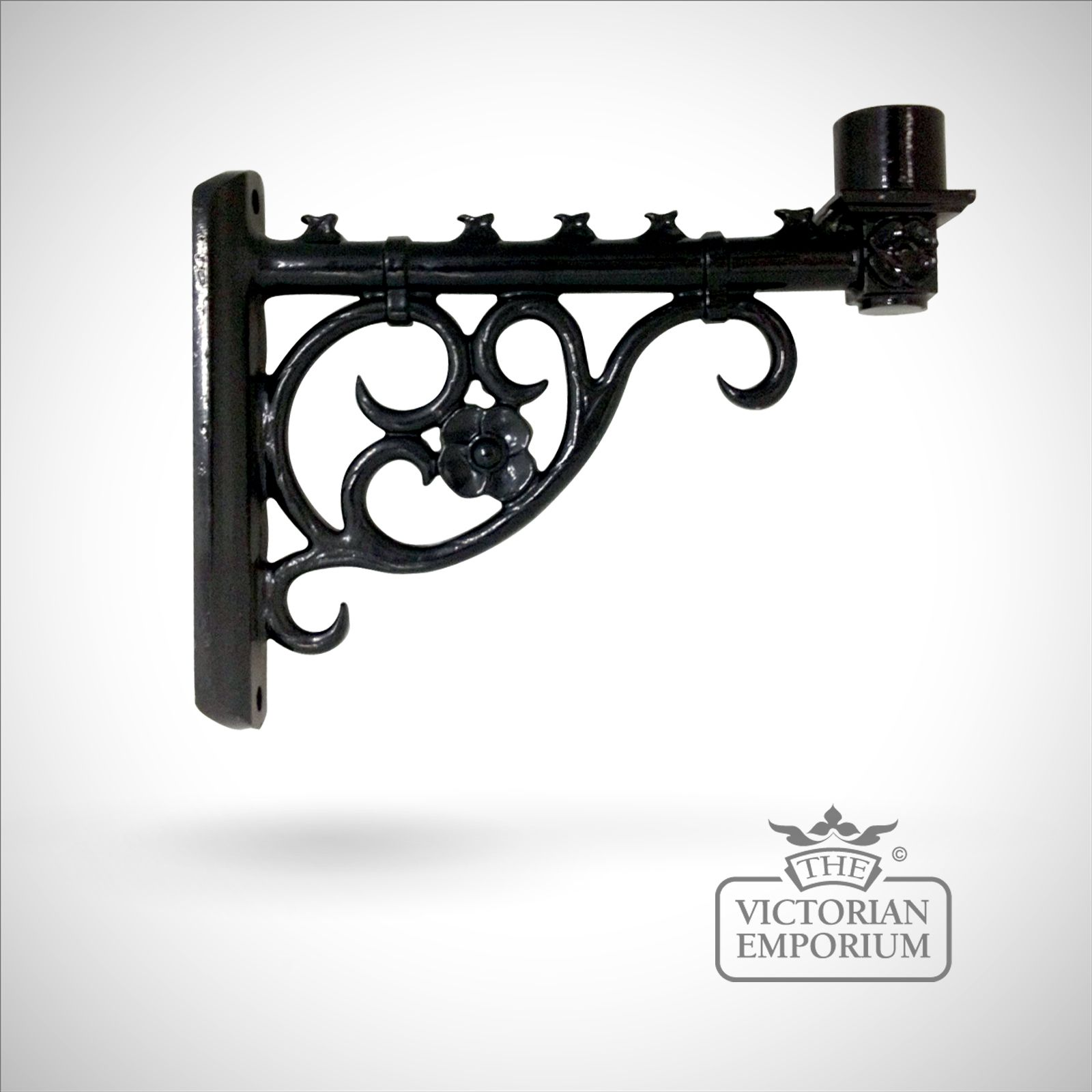 Reproduction victorian wallpaper guide the victorian emporium - Cathedral Lamp Bracket