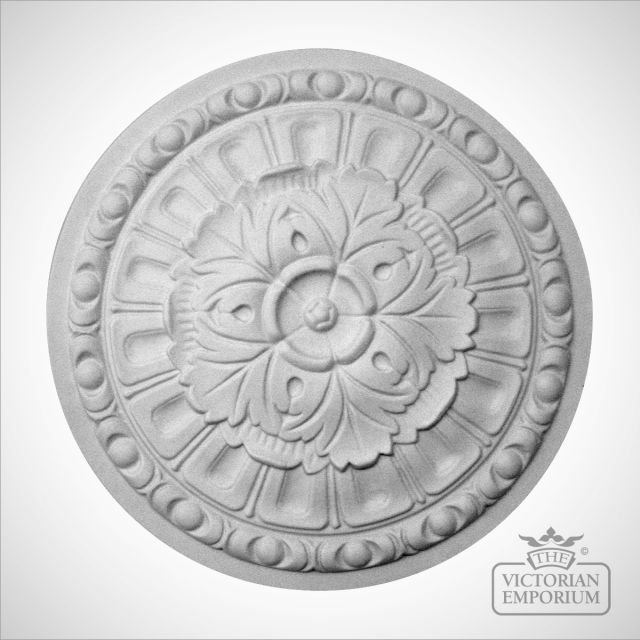 Victorian ceiling rose - Style 1 - 300mm or 430mm diameter