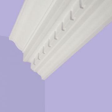 Victorian coving - Large Dentil