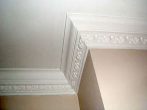 Victorian Coving Large Egg And Dart Plaster Coving