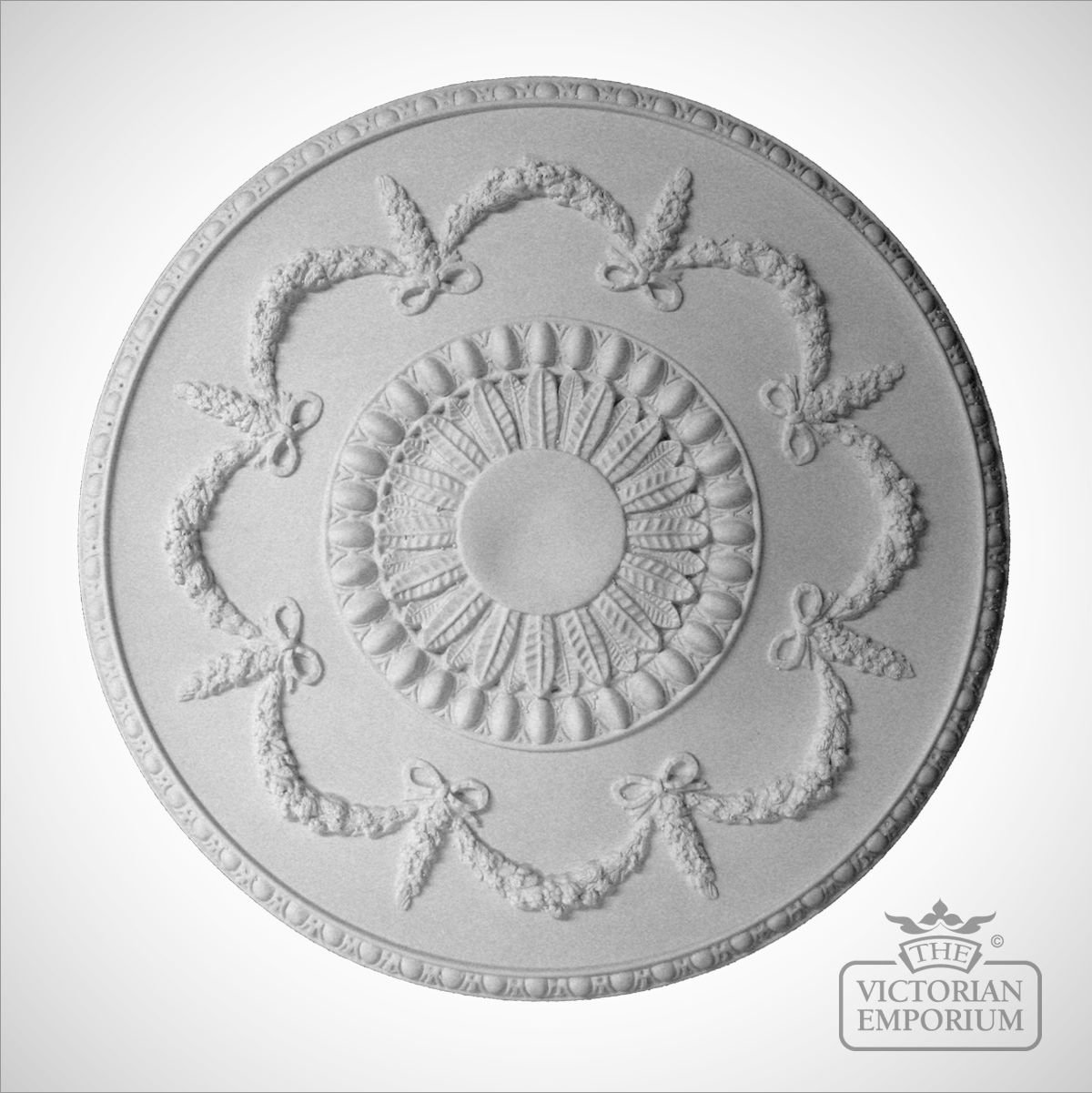Victorian Ceiling Rose Style 4 430mm Diameter Small
