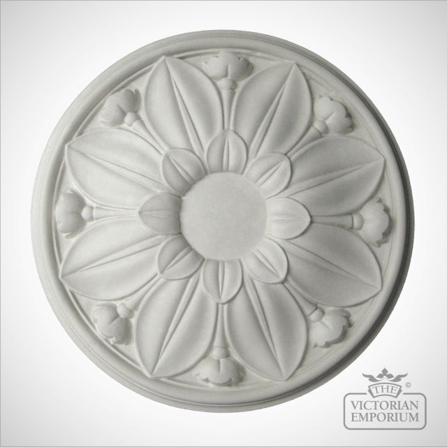 Victorian ceiling rose - Style 11 - 410mm diameter
