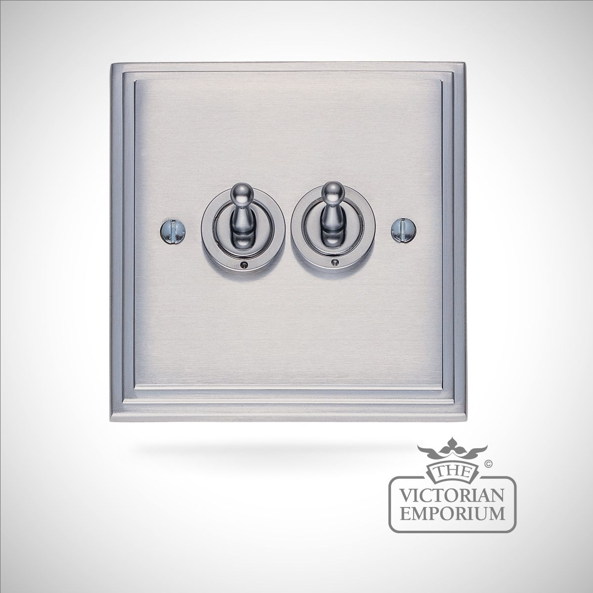 Stepped 2 Gang Intermediate Toggle Switch