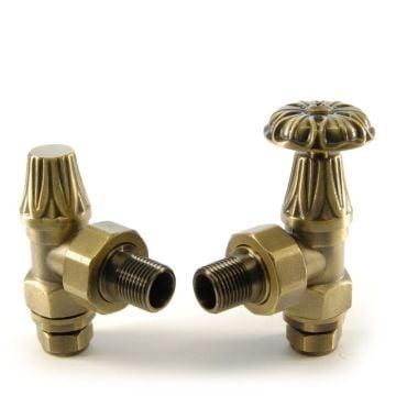 Versailles Manual Radiator valve set