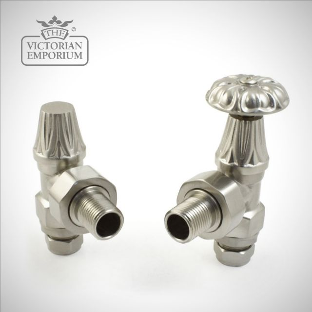 "Versailles Manual Radiator valve set - 1/2"" or 3/4"" connection"