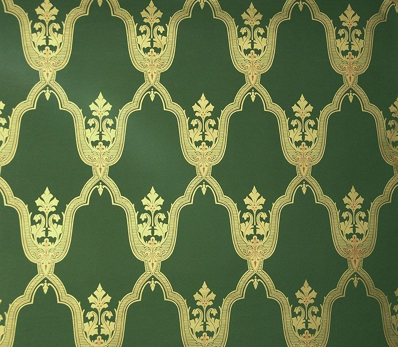 historical wallpaper with green - photo #1